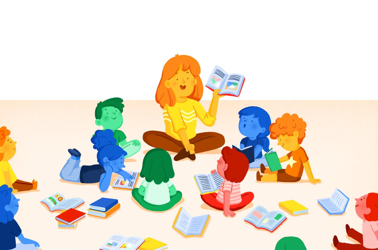 Imatge del cursBiblioteca escolar i animació de la lectura