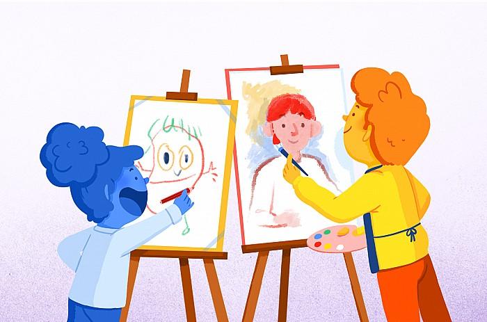 Imatge Educació visual i plàstica: una nova mirada educativa
