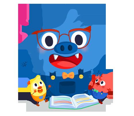 Il.lustració entranyable que acompanya el curs Ser tutor a primària