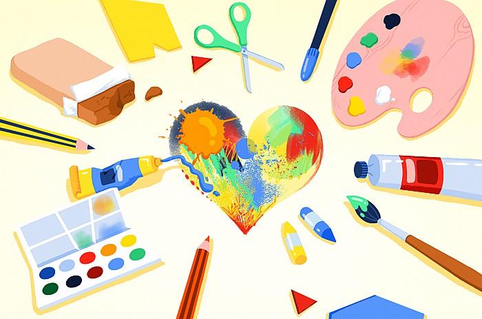 Imatge Aplicació de l'educació visual i plàstica a l'aula
